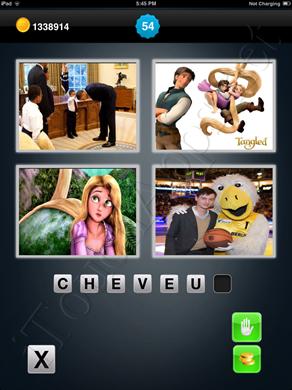 1 Mot 4 Images Level 54 Answer