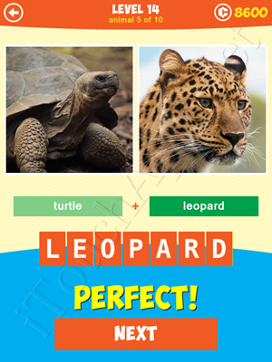 1 Pic: What's the Beast Level 14 Animal 5 Answer