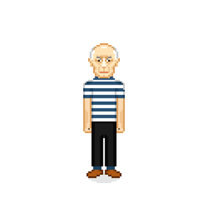100 Pics Quiz Pixel People Pack Level 18 Answer 1 of 5