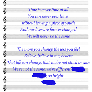 100 Pics Quiz Song Lyrics Pack Level 17 Answer 1 of 5