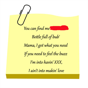 100 Pics Quiz Song Lyrics Pack Level 3 Answer 1 of 5