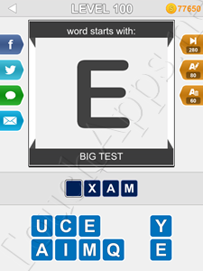 123 Pop Word Quiz Level 100 Cheat