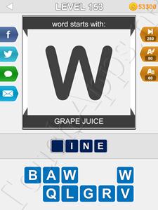 123 Pop Word Quiz Level 153 Cheat