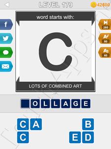 123 Pop Word Quiz Level 179 Solution