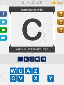 123 Pop Word Quiz Level 251 Cheat