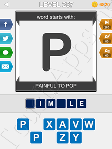123 Pop Word Quiz Level 257 Cheat