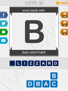 123 Pop Word Quiz Level 29 Cheat