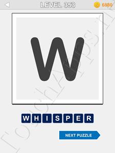 123 Pop Word Quiz Level 353 Cheat