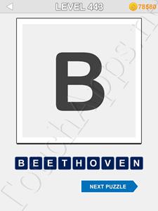 123 Pop Word Quiz Level 443 Cheat