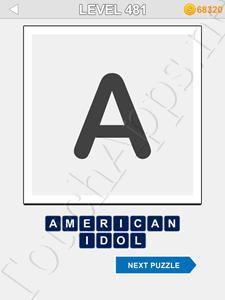 123 Pop Word Quiz Level 481 Cheat
