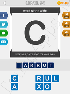 123 Pop Word Quiz Level 55 Cheat