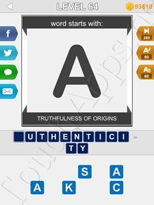 123 Pop Word Quiz Level 64 Cheat
