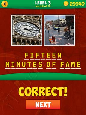 2 Pics 1 Phrase Level 3 Word 8 Solution