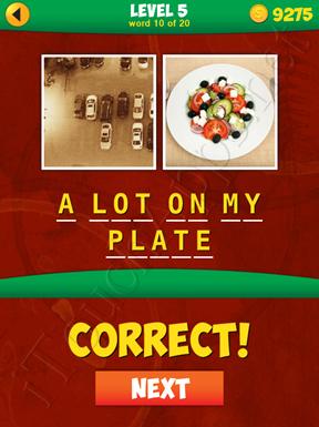 2 Pics 1 Phrase Level 5 Word 10 Solution