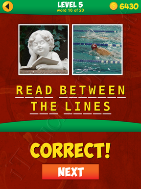 2 Pics 1 Phrase Level 5 Word 16 Solution