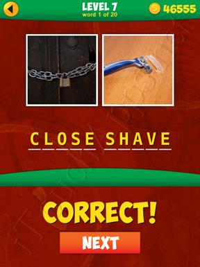 2 Pics 1 Phrase Level 7 Word 1 Solution