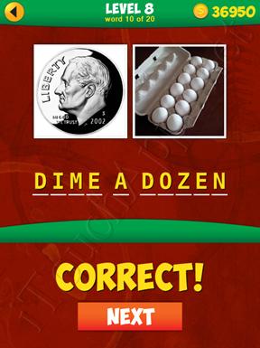 2 Pics 1 Phrase Level 8 Word 10 Solution
