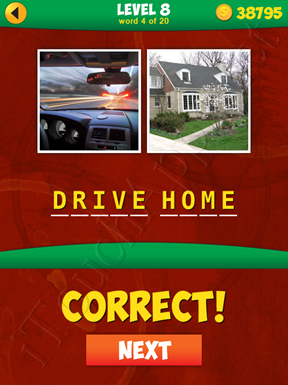 2 Pics 1 Phrase Level 8 Word 4 Solution