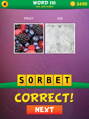 2 Pics 1 Word Mix And Make Pack Word 110 Solution