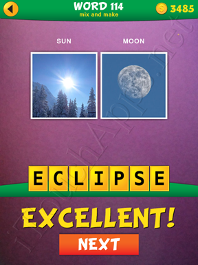 2 Pics 1 Word Mix And Make Pack Word 114 Solution