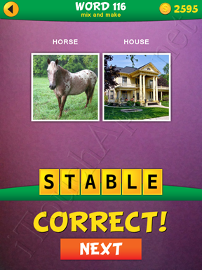 2 Pics 1 Word Mix And Make Pack Word 116 Solution