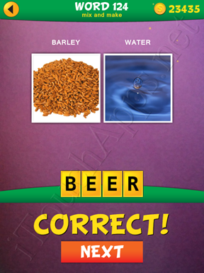 2 Pics 1 Word Mix And Make Pack Word 124 Solution