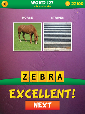 2 Pics 1 Word Mix And Make Pack Word 127 Solution