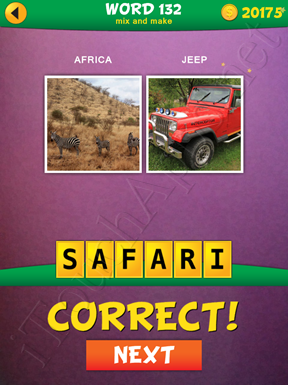2 Pics 1 Word Mix And Make Pack Word 132 Solution