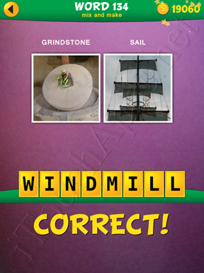 2 Pics 1 Word Mix And Make Pack Word 134 Solution