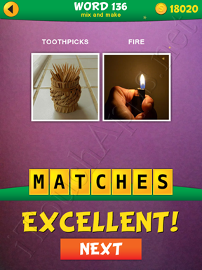 2 Pics 1 Word Mix And Make Pack Word 136 Solution