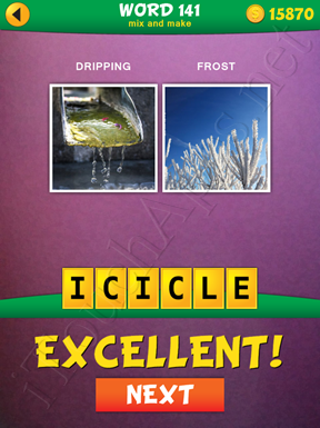2 Pics 1 Word Mix And Make Pack Word 141 Solution