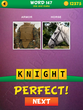 2 Pics 1 Word Mix And Make Pack Word 147 Solution