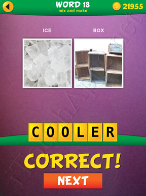 2 Pics 1 Word Mix And Make Pack Word 18 Solution
