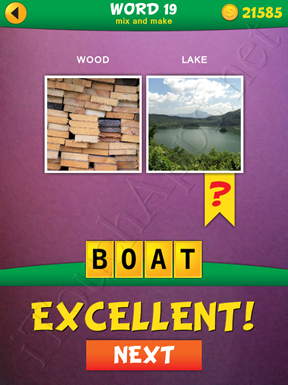 2 Pics 1 Word Mix And Make Pack Word 19 Solution