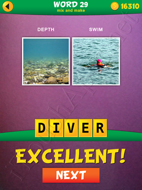 2 Pics 1 Word Mix And Make Pack Word 29 Solution