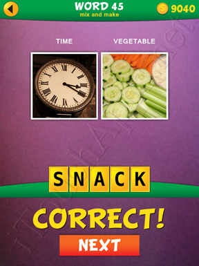 2 Pics 1 Word Mix And Make Pack Word 45 Solution
