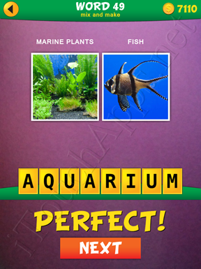 2 Pics 1 Word Mix And Make Pack Word 49 Solution