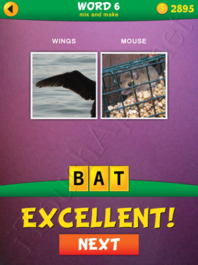 2 Pics 1 Word Mix And Make Pack Word 6 Solution