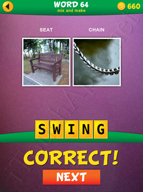 2 Pics 1 Word Mix And Make Pack Word 64 Solution