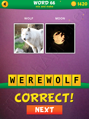 2 Pics 1 Word Mix And Make Pack Word 66 Solution