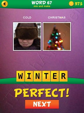 2 Pics 1 Word Mix And Make Pack Word 67 Solution