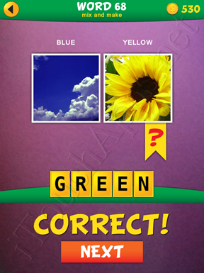 2 Pics 1 Word Mix And Make Pack Word 68 Solution