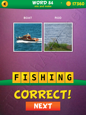 2 Pics 1 Word Mix And Make Pack Word 84 Solution