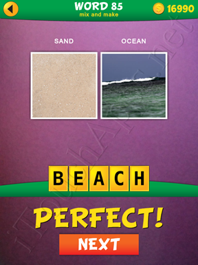 2 Pics 1 Word Mix And Make Pack Word 85 Solution