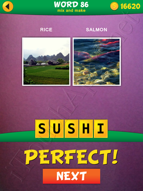 2 Pics 1 Word Mix And Make Pack Word 86 Solution