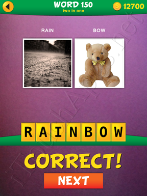 2 Pics 1 Word Two In One Pack Word 150 Solution