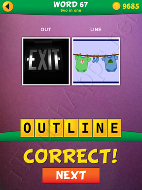 2 Pics 1 Word Two In One Pack Word 67 Solution