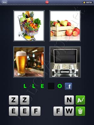 4 Fotos 1 Palabra Level 119 Respuesta