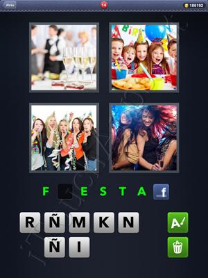 4 Fotos 1 Palabra Level 14 Respuesta