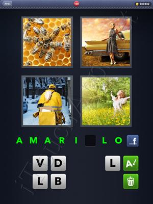 4 Fotos 1 Palabra Level 159 Respuesta